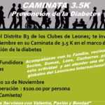 Caminata por la Diabetes Distrito B3